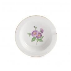 Ascher, Blume 1, leicht, Goldrand, ø 9 cm