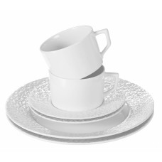 Кофе сервис-Set 6-tlg., Wei