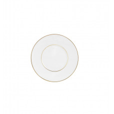 Кофе/Чай/Кап.-Блюдце, Stripes, золотые нити, золотые края, Ø 14,5 см