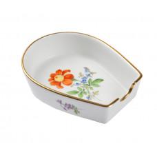 Ascher, Blume 2 mitte, bunt, Goldrand, L 8 cm