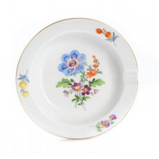 Ascher, Blume 3 mitte, bunt, Goldrand, ø 9 cm