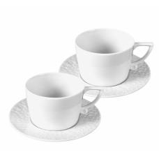 Капучино чашки-Set, 4-tlg., Wei