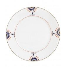 Закуска- & десертная тарелка, Noble Blue, Bl–tenknospe, Bl–tenzweig, синий кобальт, красный и золото со скидкой чате, Ø 22 см