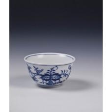 Kopchen, луковый узор, кобальт синий, белыйон край, 0,06 л