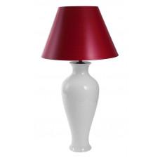 Настольная лампа, белая, gro, H 73 см