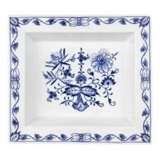 Vide-poche gro, лук шаблон, кобальт синий, белыйон края, 21 х 18,5 см