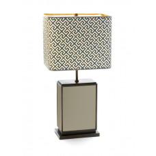 Настольная лампа куб, Sapphire, бежевый, H 74 см