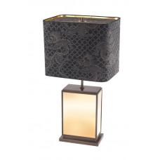 Настольная лампа куб, блеск золота, снаряжении латунных brüния, H 74 см