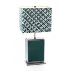 Настольная лампа куб, Russischgrün, снаряжении латунных brüния, H 74 см