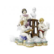 Скульпторы искусственная, H 20 см