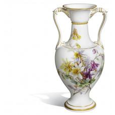 Ваза, Натуралистической картины цветка, H 46 см