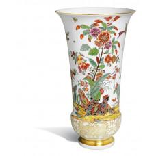 Ваза, Восточно-азиатские цветочные мотивы с Vöхолмах, H 37,5 cm