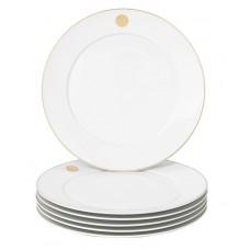 Десертная тарелка-Set 6-tlg., Swords Luxury Gold, Меч, Медальон, Золотой Нитью, Форма