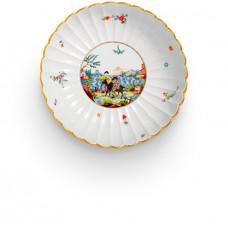 Гарнир чашка пейзаж и фигурная живопись, Ограниченным тиражом шедевры, ø 21 см