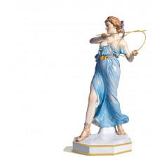 Werferin, разноцветные и золотые staffiert шины, синий Халат, Лимитированные шедевры, H 38 см