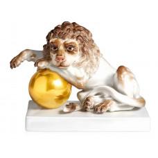 Löwe шариковые, Разноцветные и золотые staffiert, Лимитированные шедевры, H 10 см
