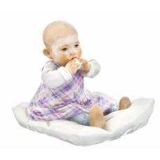 Ребенка на подушку, разноцветный staffiert, H 12,5 см