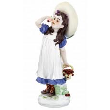 M—девушка с вишней, красочный staffiert, H 17 см