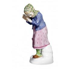 M—девушка снежок защищаться, H 13 см