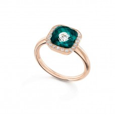 Ring My little Mystery гламур с royal green фарфора и горного хрусталя