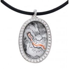 Anh—викингов Mystery Черный дракон с горным хрусталем *