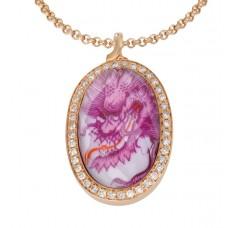Anh—тайна викингов пурпур дракон с аметистом *
