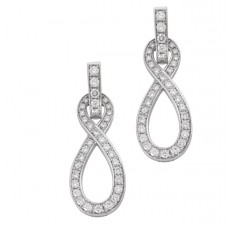 МЕЙСЕН® Diamond Swords Earrings