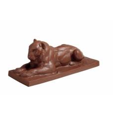Löwe, лежа, Böttgersteinzeug