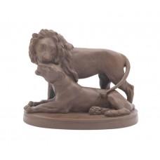 Löwengruppe, Böttgersteinzeug