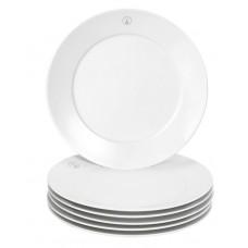 Десертная тарелка-Set 6-tlg., Swords Элегантный Серый, Меч, Медальон, Форма