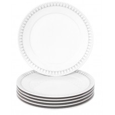 Десертная тарелка-Set 6-tlg., Swords Элегантный серый, меч края, auen, форма